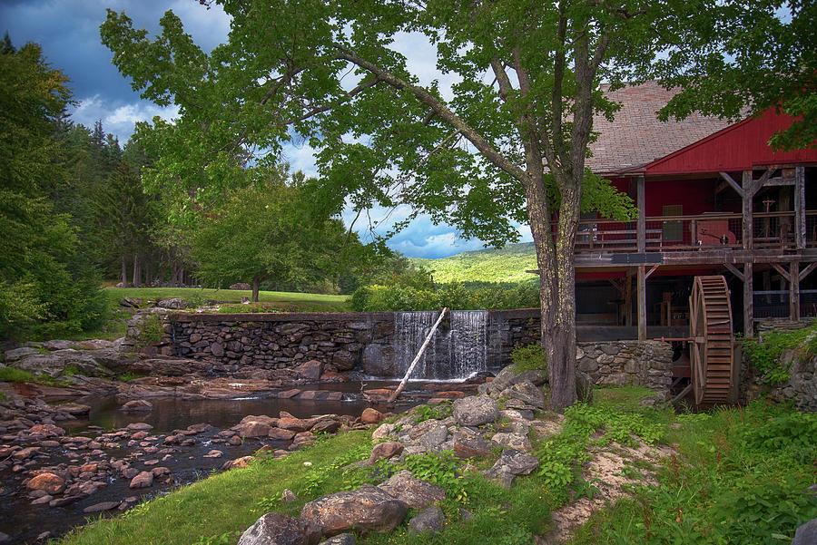 Grist Mill - Weston, Vermont Photograph