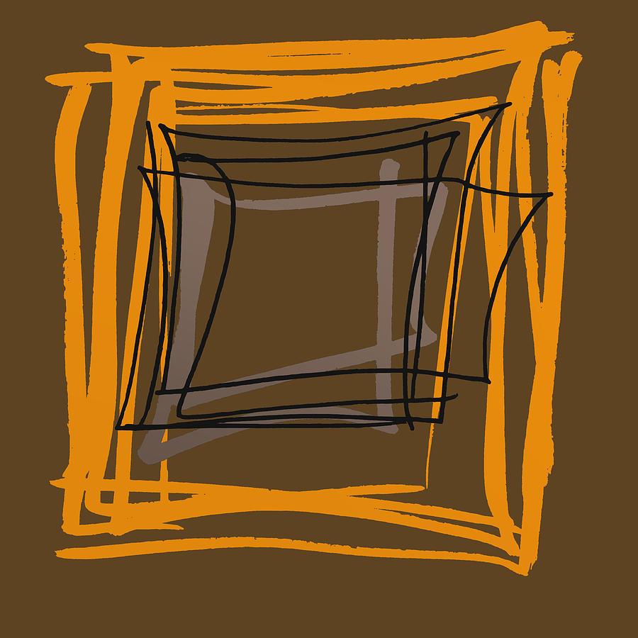 Grounge Artistic Square Digital Art