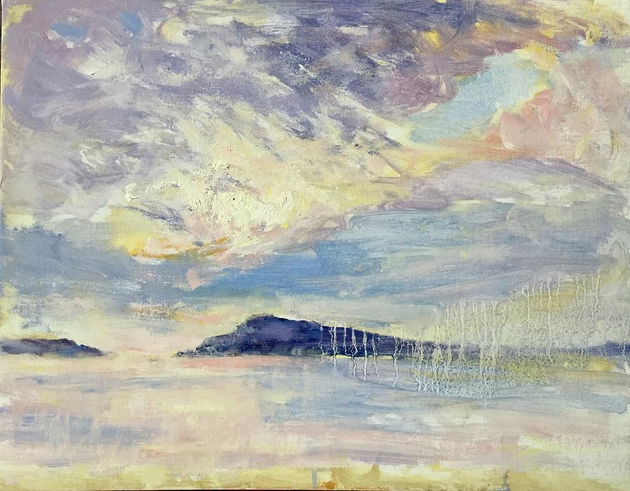 Group of Seven Inspired Canadian Painting from Qualicum Bay by Quin Sweetman