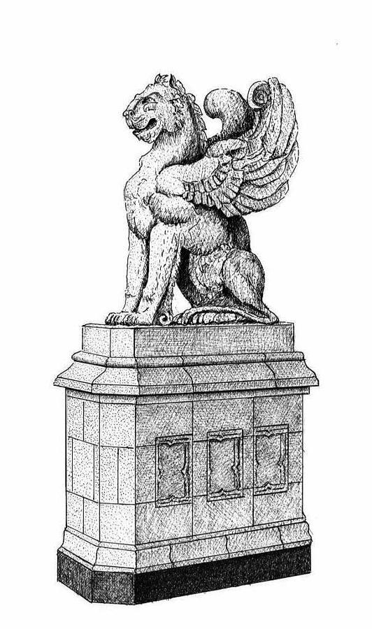 Asheville Jewelry - Grove Arcade Griffin by Lee Pantas