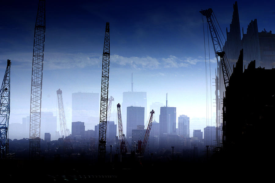 Landscape Photograph - Growth in the City by Holly Kempe