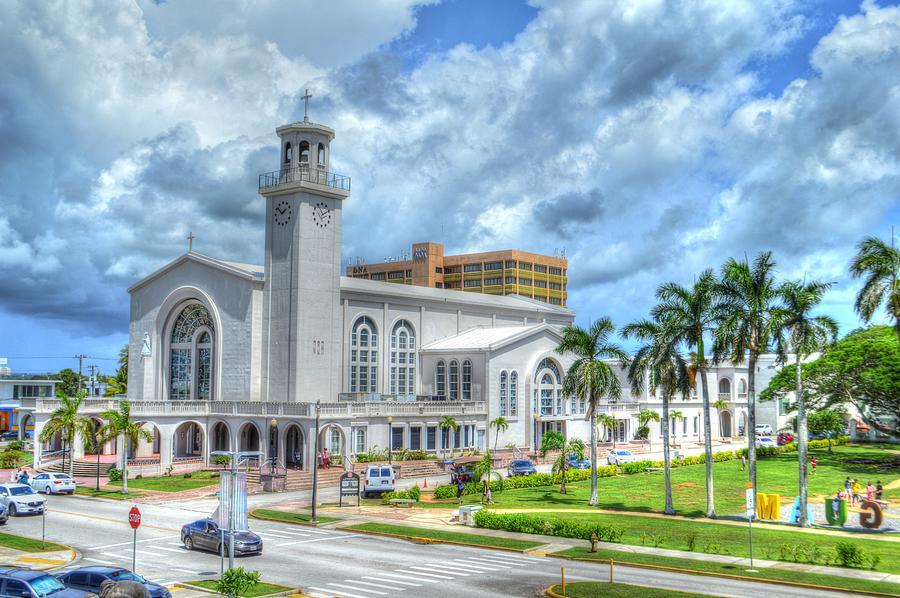 Guam Church by Bill Hamilton