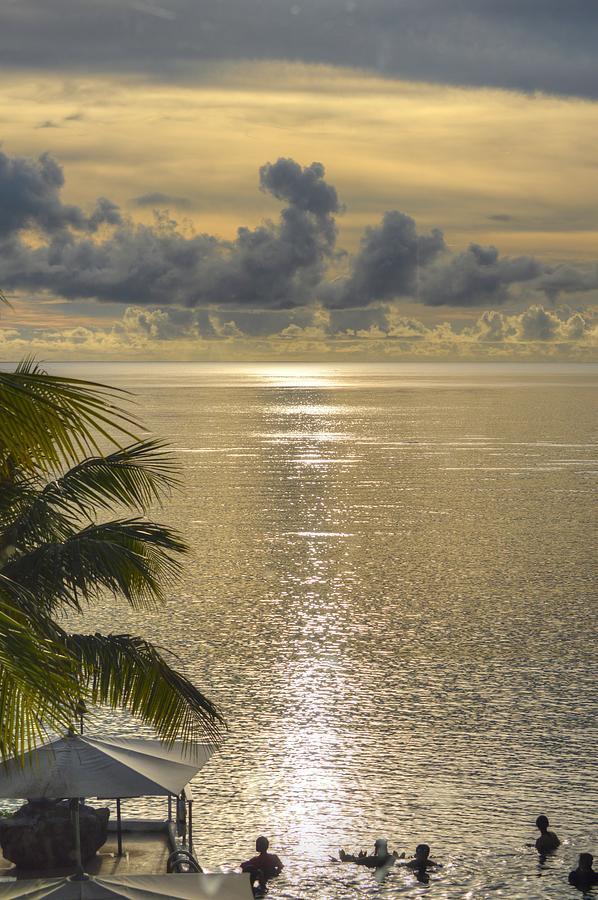 Guam Sunset by Bill Hamilton