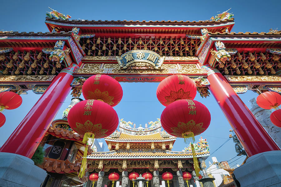 Guan Shrine 4 by William Chizek
