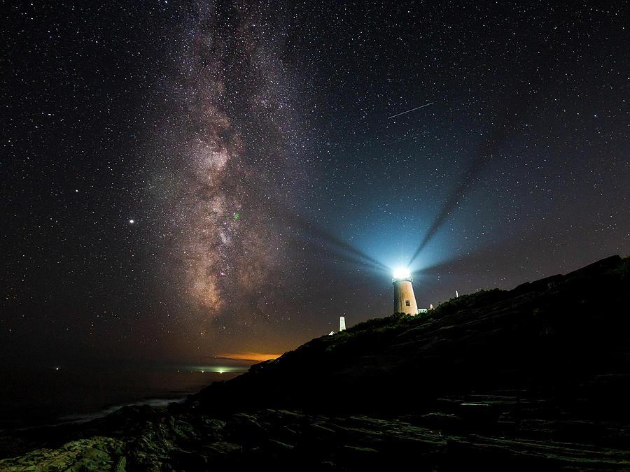 Guiding Lights At Pemaquid Photograph