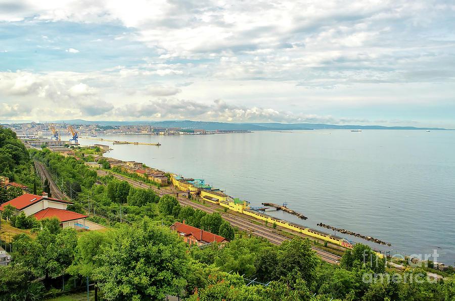 Gulf Of Trieste - Friuli Venezia Giulia Italy Photograph