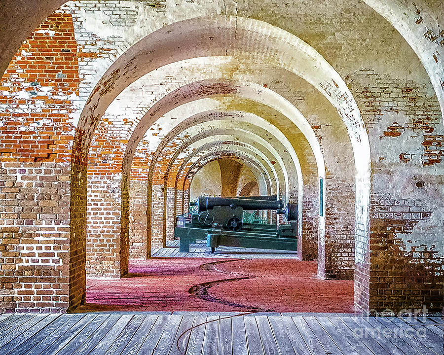 Guns at Fort Pulaski by Nick Zelinsky