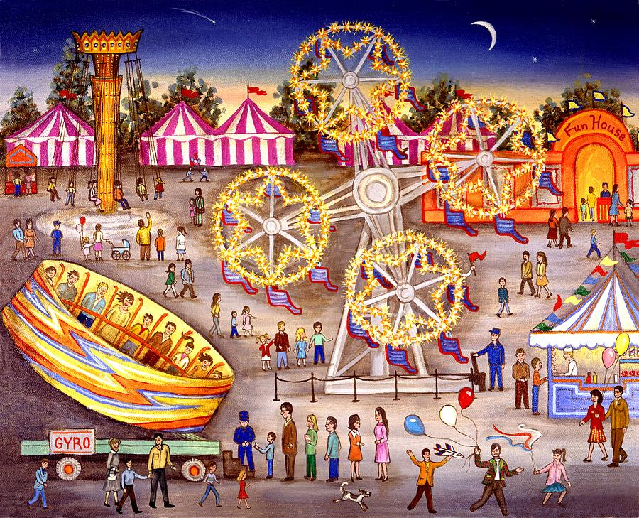 Gyro At The Carnival Painting