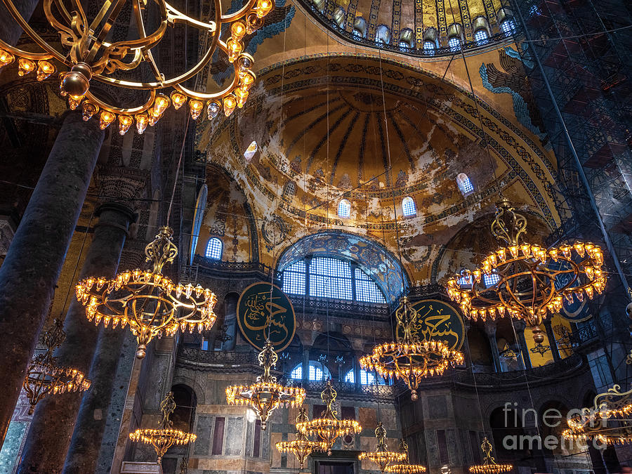 Hagia Sophia Illuminations by Mike Reid