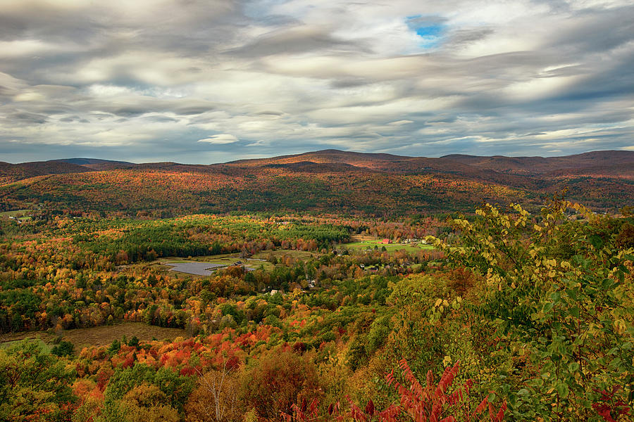 Hairpin Curve in The Berkshires by Joann Vitali
