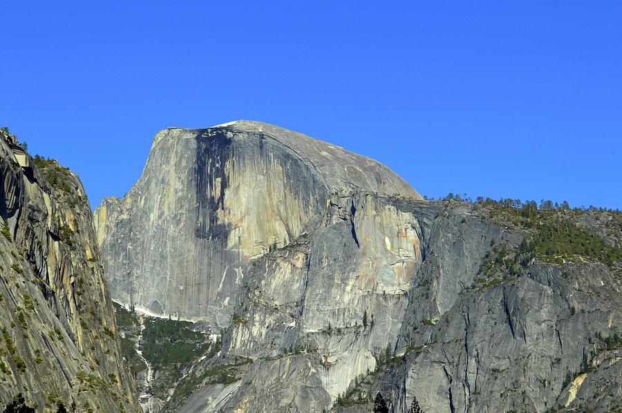 Half Dome In April Photograph