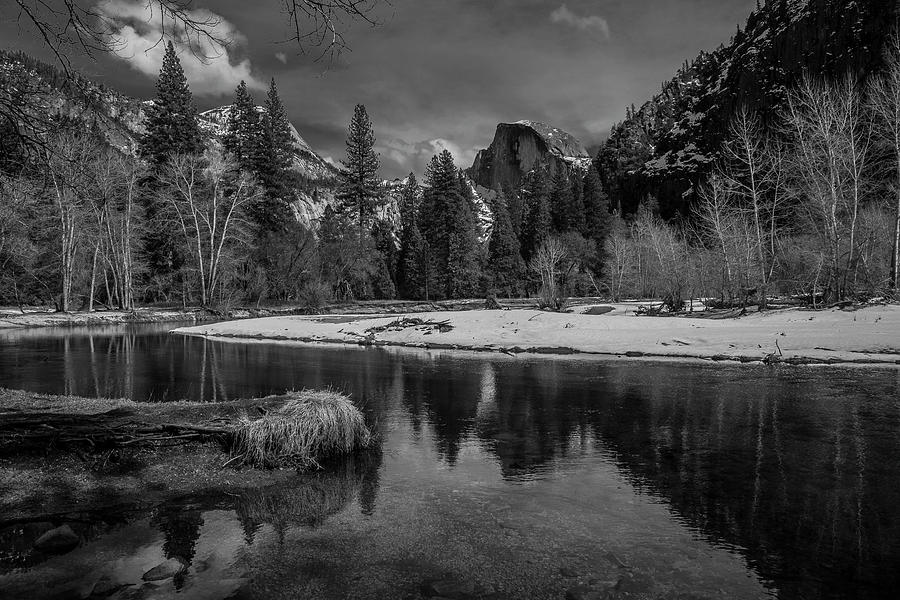Half Dome Reflections by Matthew Irvin