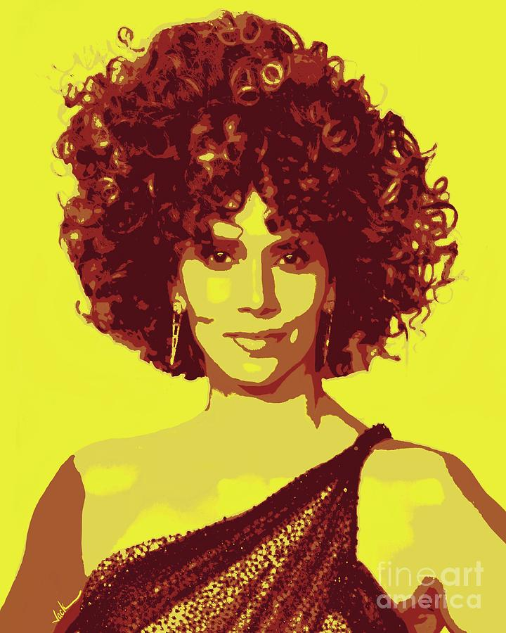 Halle Painting - Halle Berry 2020 by Jack Bunds