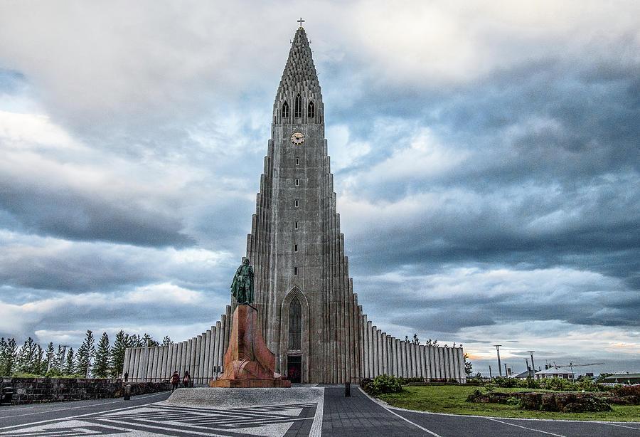 Iceland Photograph - Hallgrimskirkja Lutheran Church, Iceland by Venetia Featherstone-Witty