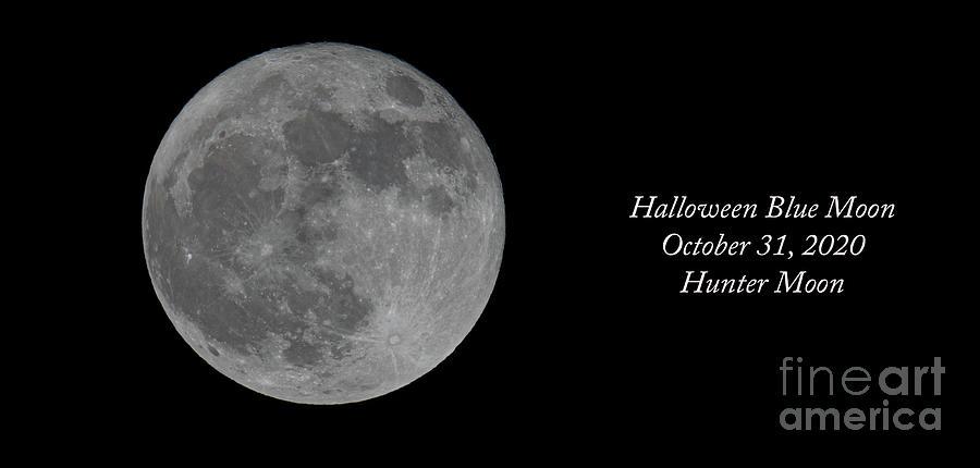 Halloween 2020 - Hunter Moon Photograph