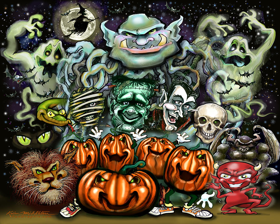 Halloween Fun Art Digital Art