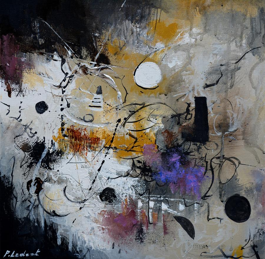 Abstract Painting - Hamilcar s strategy by Pol Ledent