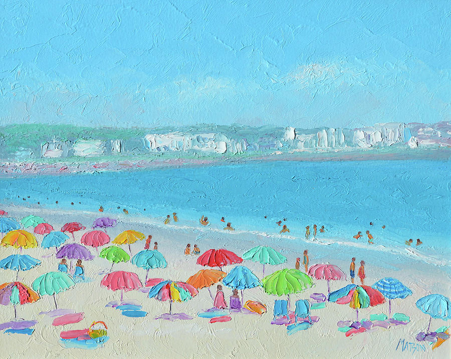 Hampton Beach, Hampton, New Hampshire Painting