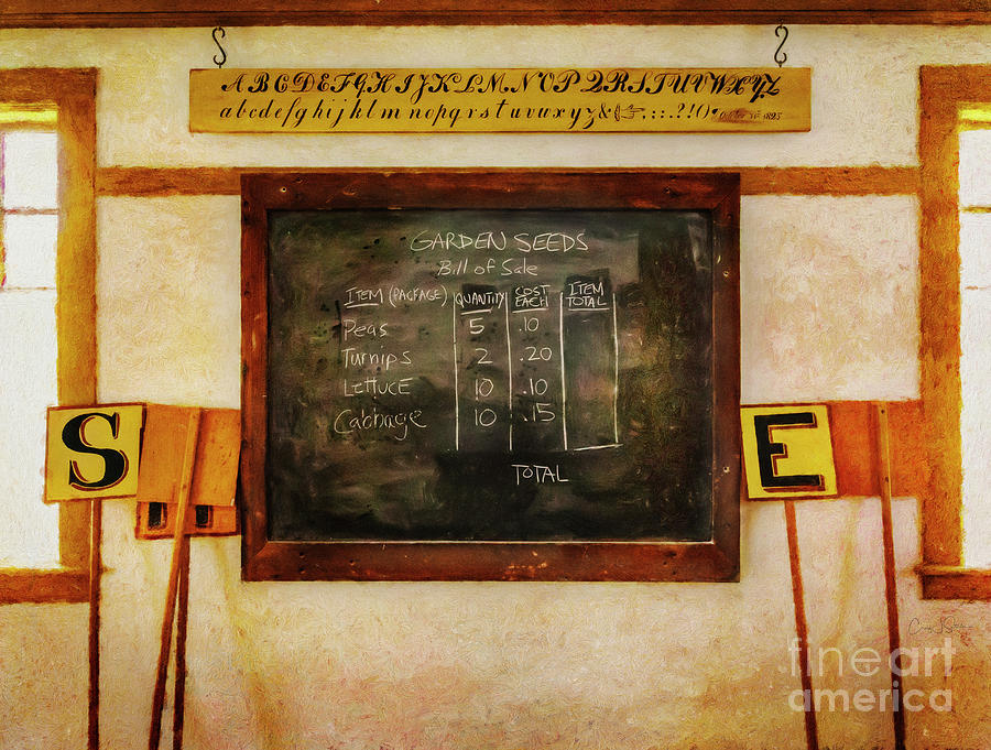 Hancock Shaker School Classroom by Craig J Satterlee