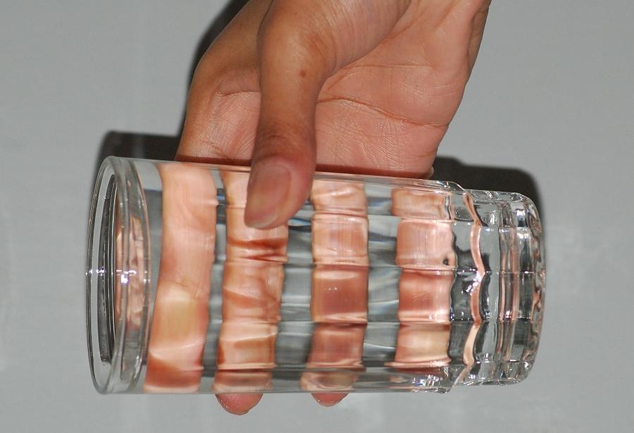Hand Glass Photograph