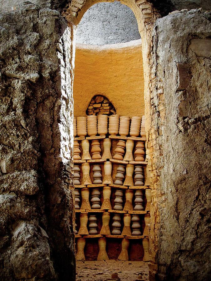 Handmade Pottery In Kiln - Fes, Morocco Photograph