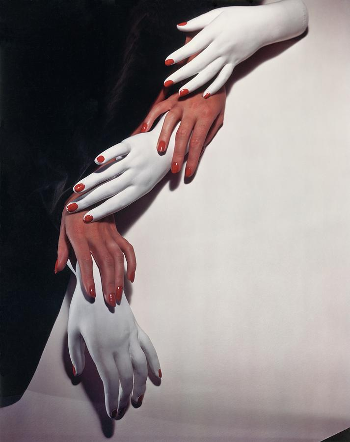 Still Life Photograph - Hands, Hands by Horst P Horst