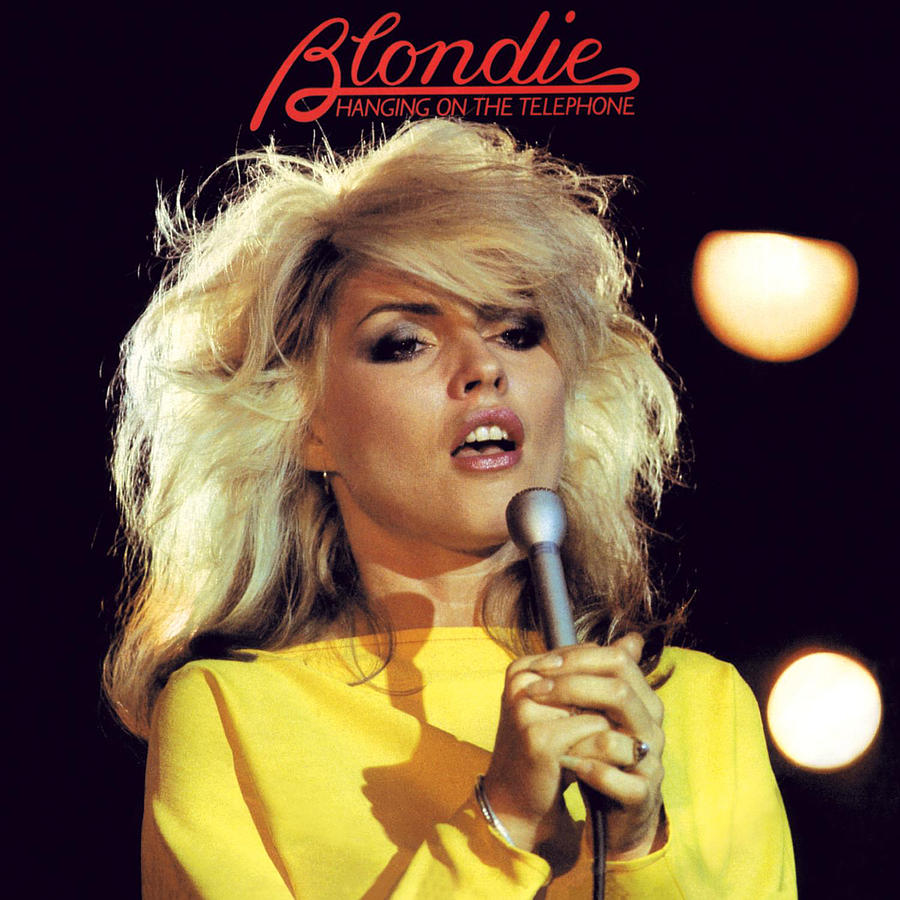 Hanging on the Telephone Remastered - Single by Blondie Digital Art by  Music N Film Prints