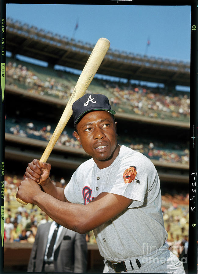 Hank Aaron Photograph by Louis Requena