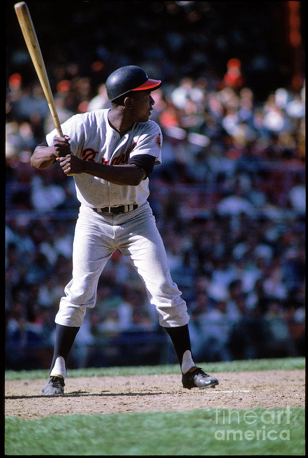 Hank Aaron Photograph by Mlb Photos