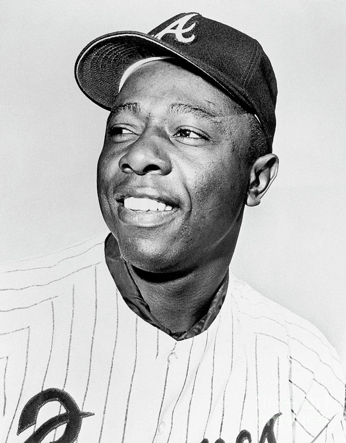 Hank Aaron Photograph by National Baseball Hall Of Fame Library
