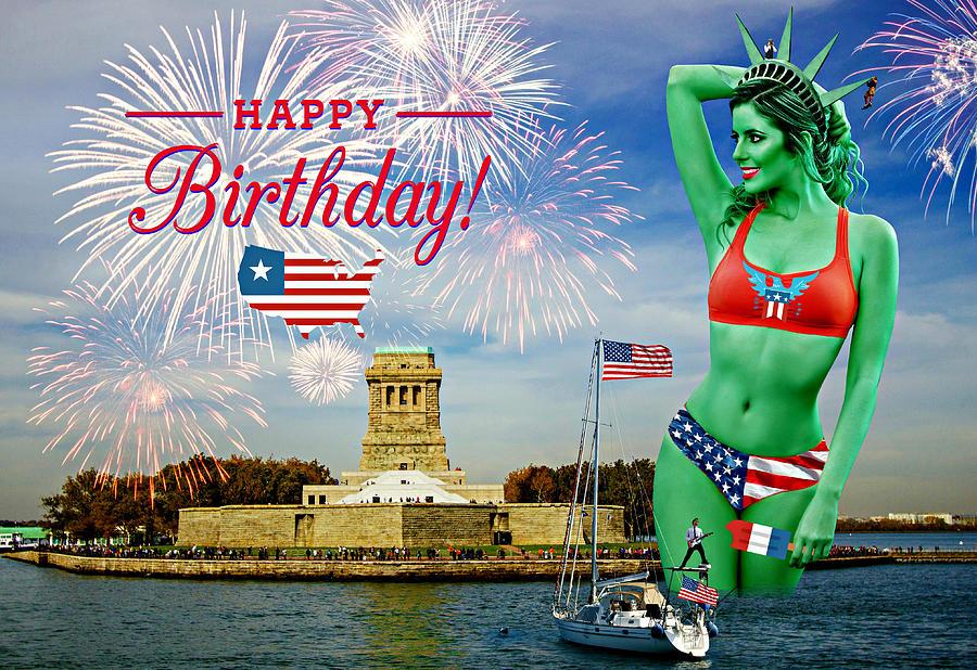 Happy Birthday America II Photograph