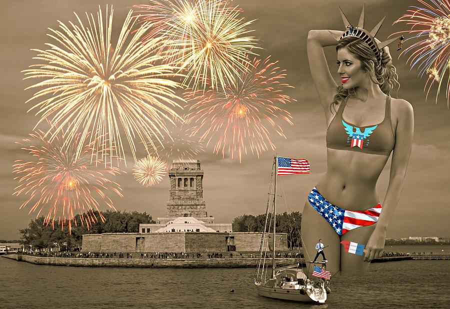 Happy Birthday, America IIi Photograph