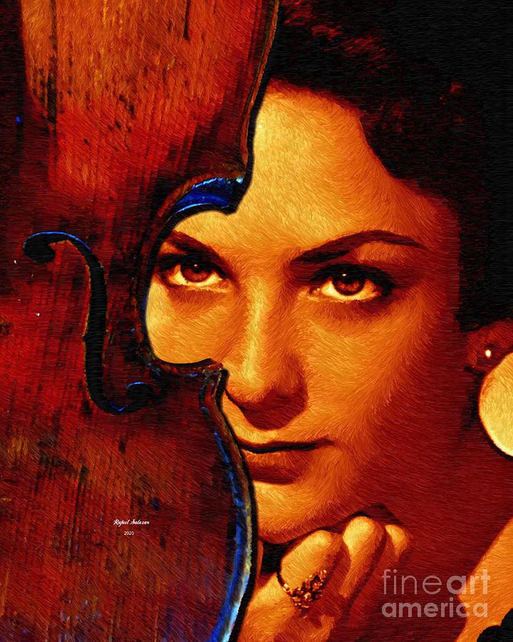 Happy Birthday Viva - A True Soul Artist Painting