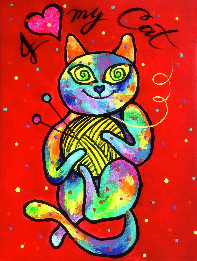 Happy Cat by Leon Zernitsky