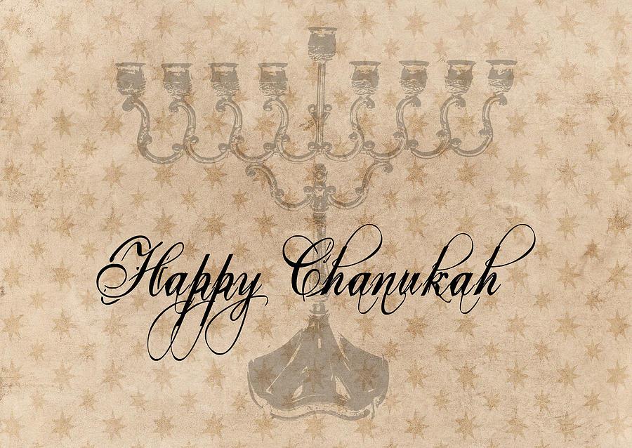 Happy Chanukah by Alison Frank