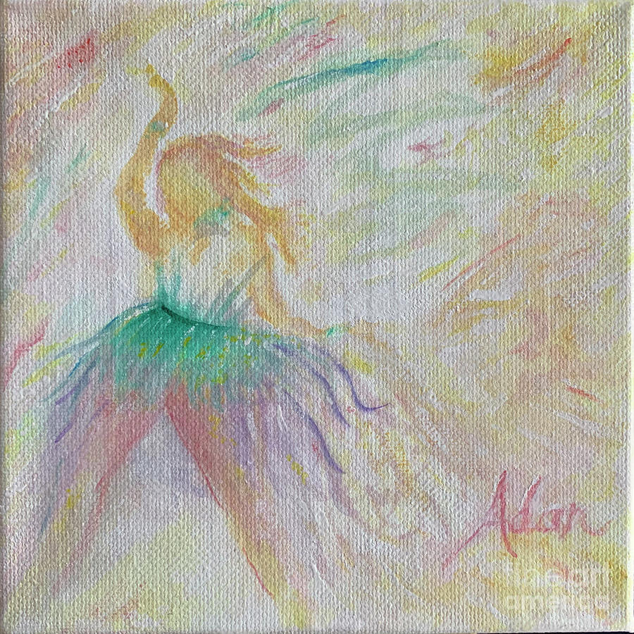 Happy Dancer Painting