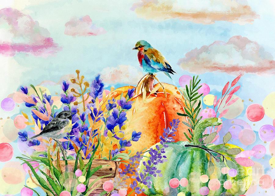 Happy Fall Season by Olga Hamilton