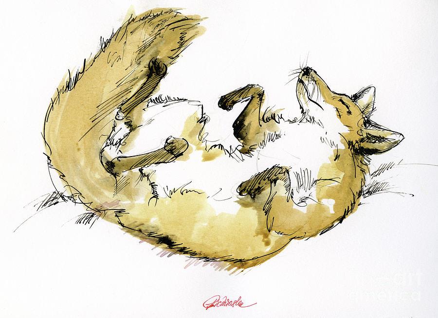Happy Fox by Angel Ciesniarska