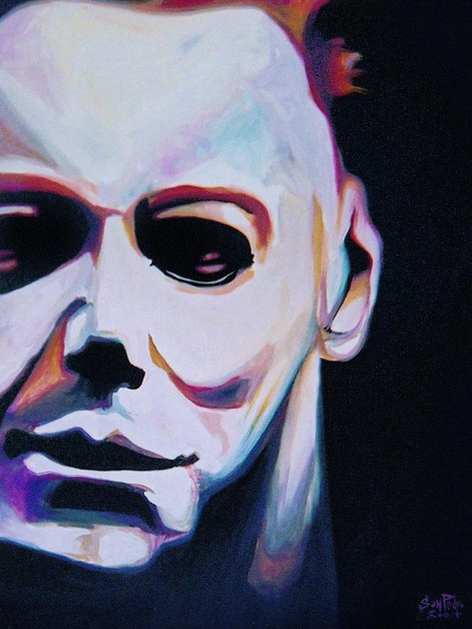 Halloween Painting - Happy Halloween by Nick San Pedro