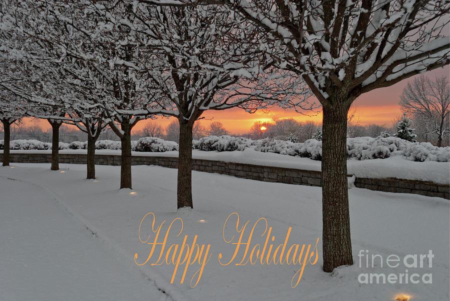 Happy Holidays- Sun Watchers by Len Tauro
