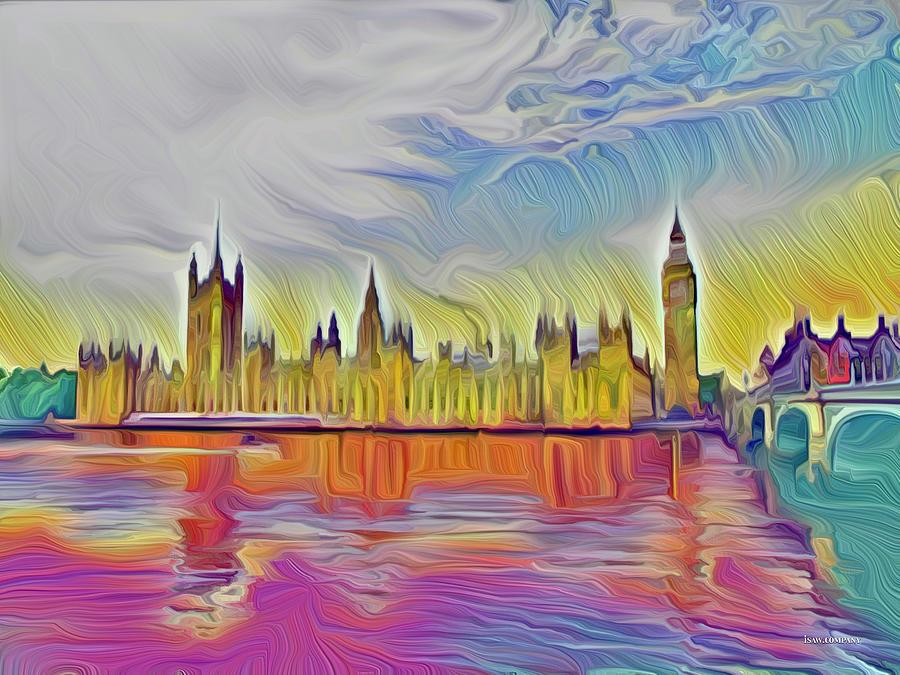 Happy London Digital Art