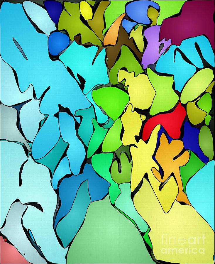 Happy Mosaic Painting