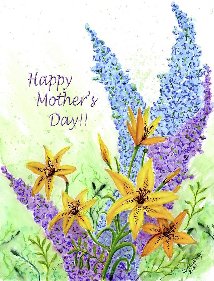Happy Mothers Day 10 Mixed Media