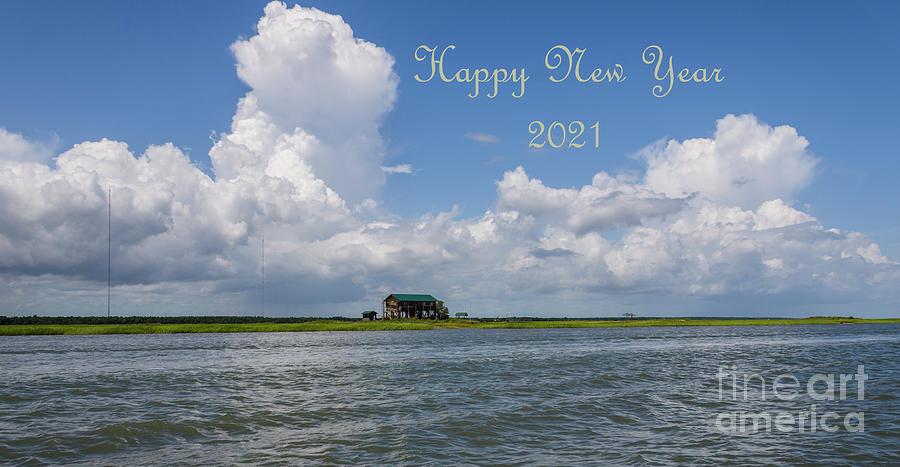 Happy New Year 2021 Photograph