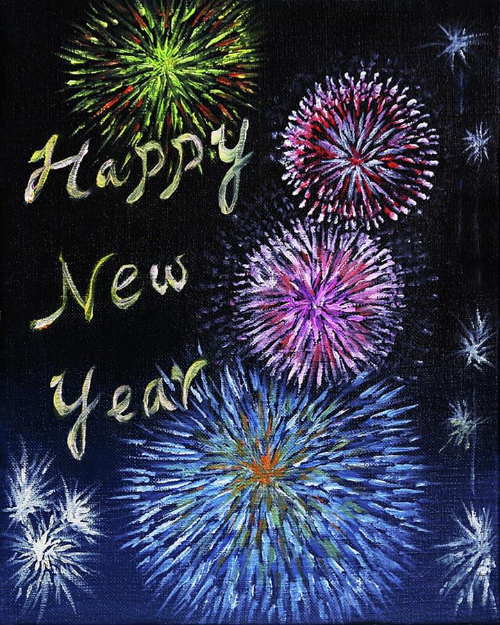 Happy New Year by Sandy Gabriel