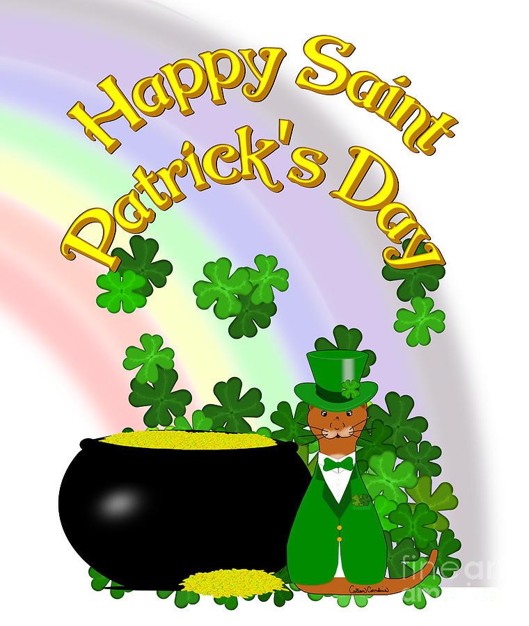Happy Saint Patricks Day Oliver by Colleen Cornelius