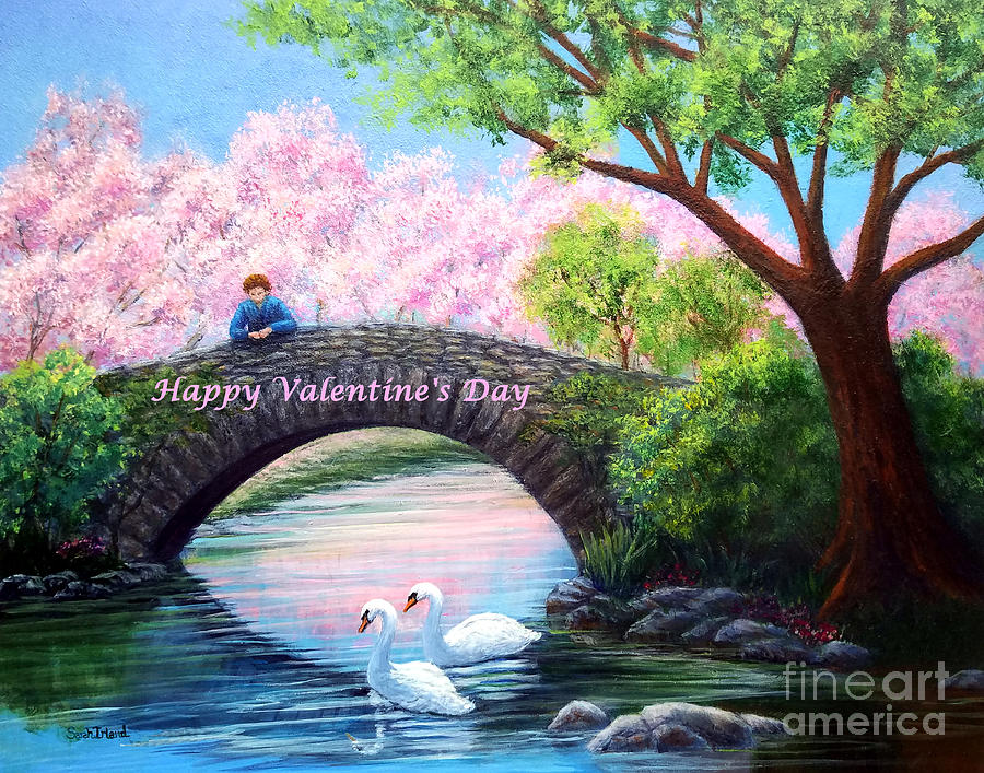 Happy Valentine's Day - View from the Bridge by Sarah Irland