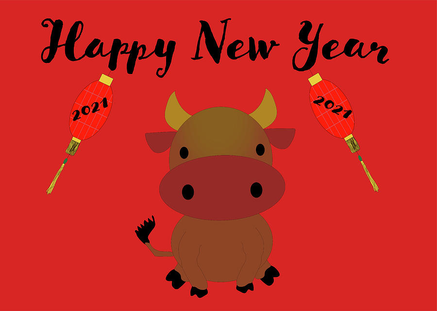 Happy Year of the Ox by Karen Foley