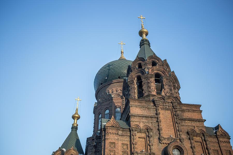 Harbin St. Sophia church Photograph by DuKai photographer