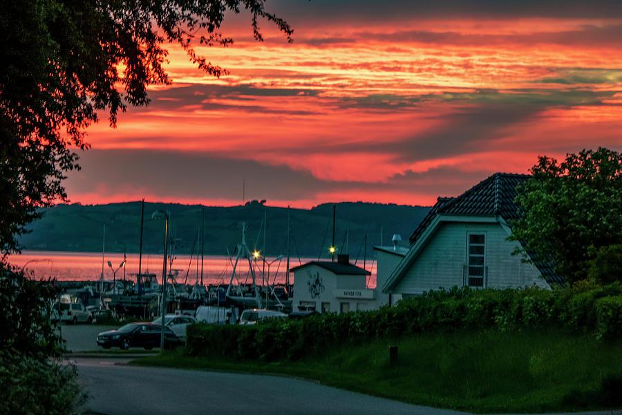 Harbor Village 04.15 Am June Morning Denmark Photograph